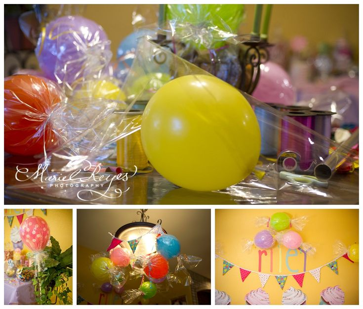 DIY Candy Themed Birthday Party