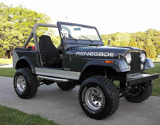 1984 Jeep Cj7 Cheap Jeeps Pinterest