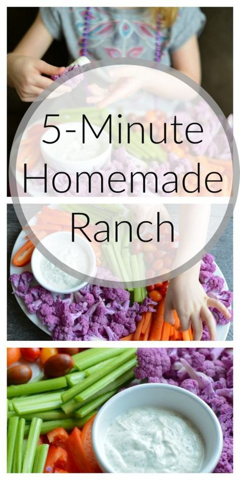 5-Minute Homemade Ranch | Healthy Ideas for Kids