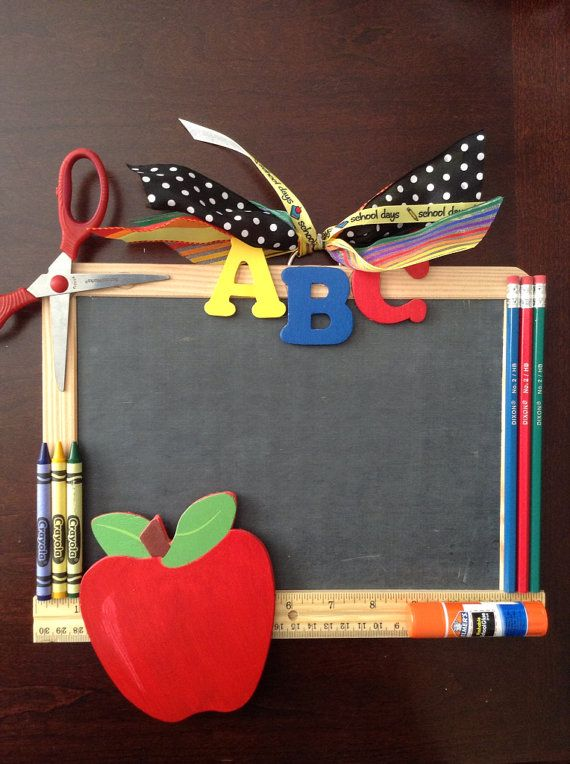 Teacher Door Hanger by DazzlinDoorzbyKristi on Etsy, $25.00