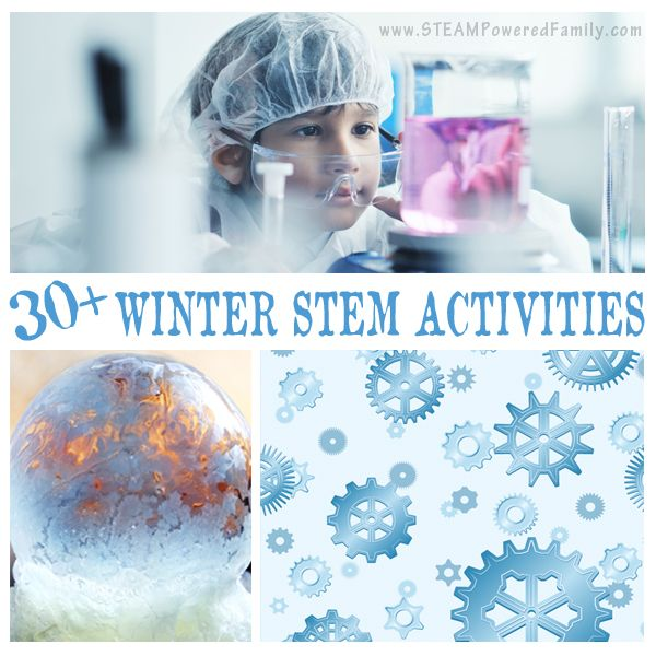 Celebrate snow and cold with these winter STEM activities. Hands-on learning that embraces science, technology, engineering and math.