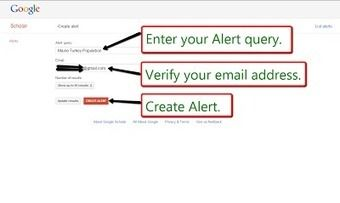 Free Technology for Teachers: How to Create Google Scholar Alerts