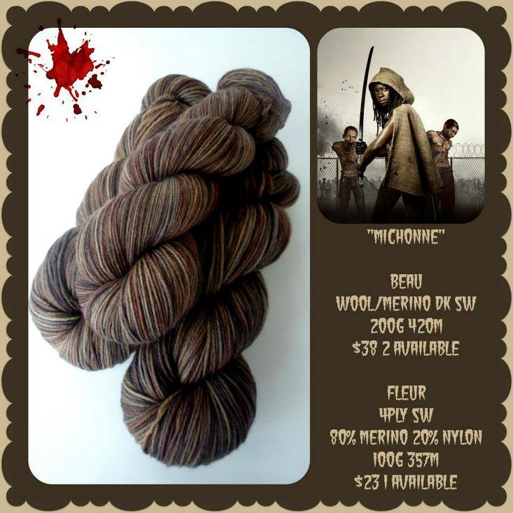 Michonne - The Walking Dead | Red Riding Hood Yarns