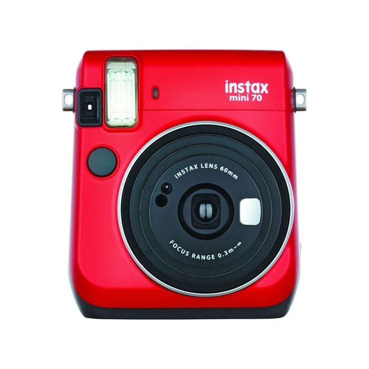 Appareil Photo Instantané Instax Mini 70 Rouge – Taille : Taille Unique