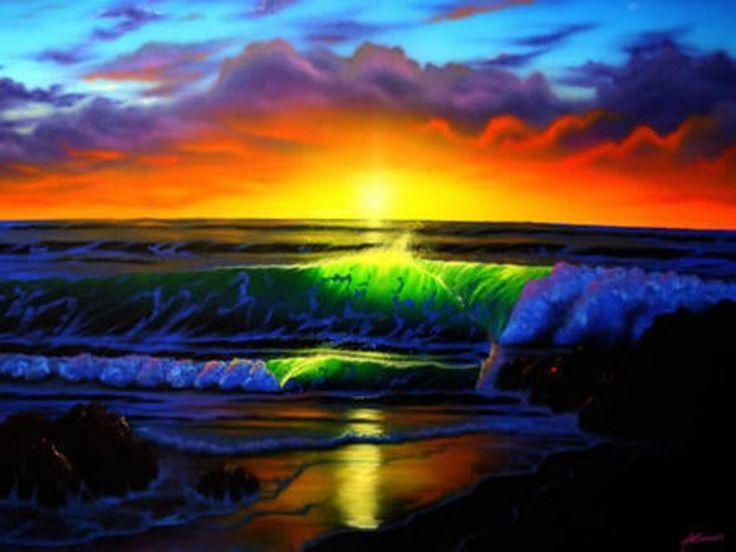 Rainbow Sunset Wallpaper | Colors | Pinterest | The o'jays ...