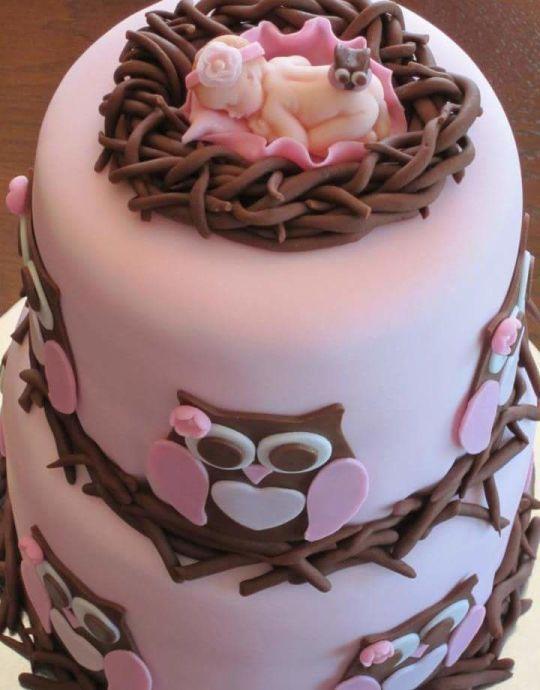 0f6a06b2606d593d7e391c3c2665ac33 owl cakes baby
