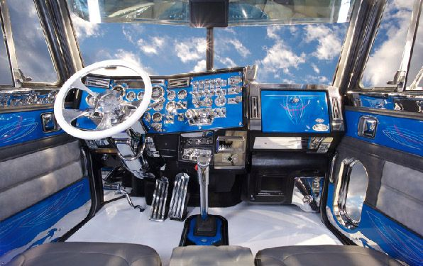 Custom Big Rig Interiors -