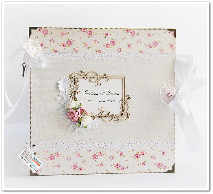 ArtMagda wedding album wtig tilda roses