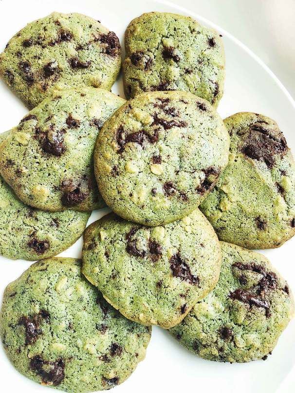 MINT CHOCOLATE CHIP TATES COOKIES - investmintbaker