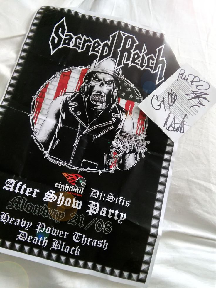 Sacred Reich 30 Years of Ignorance Tour