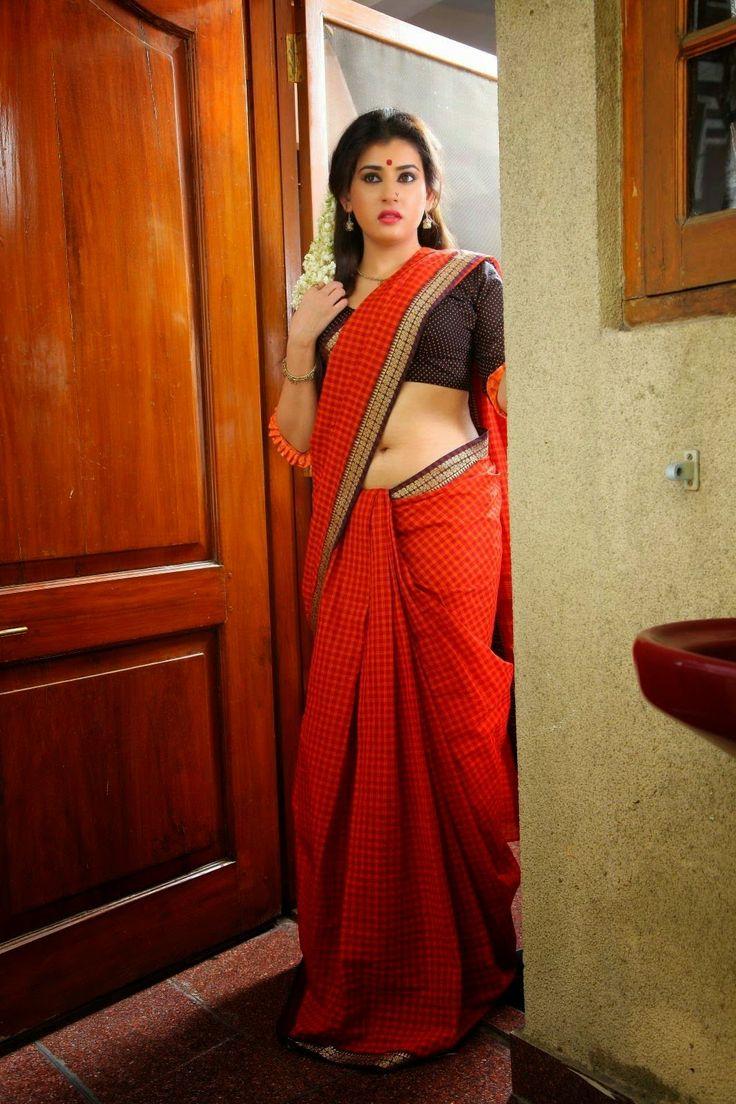 Archana Latest Photos,Kamala Tho Na Prayanam,Actress in Red Saree pics|CineForest