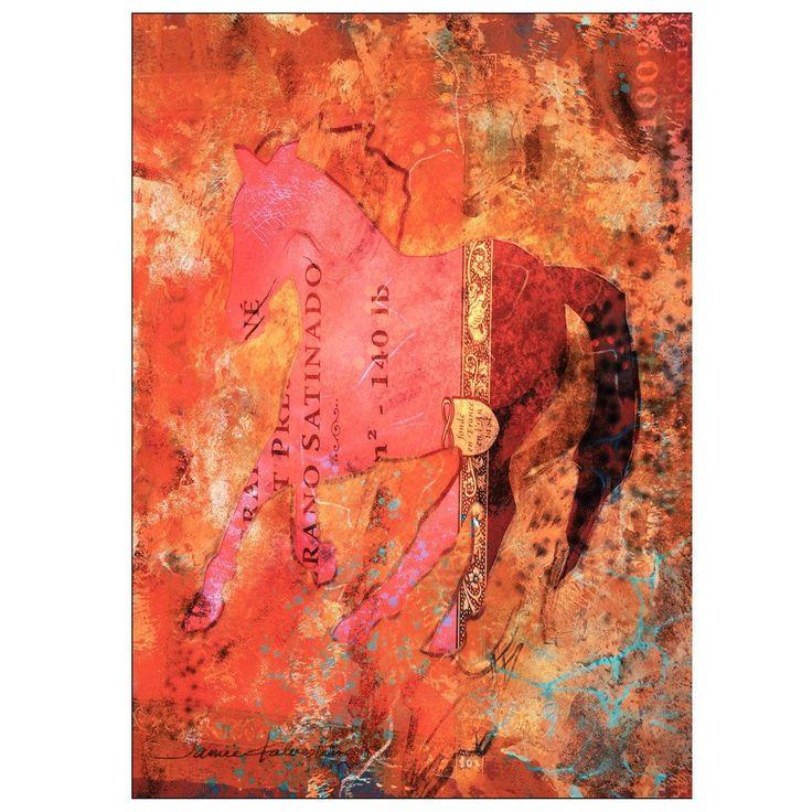Greeting Card - Rumi - The Horseman of the Soul – Jamie Kalvestran at Engelwood Studio