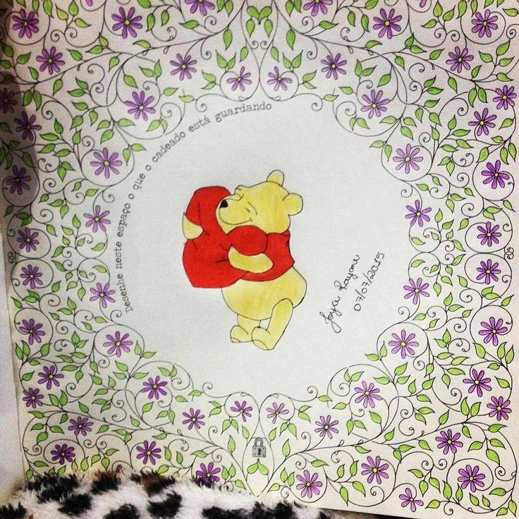 """""""Aw,quanto amor nesse Pooh  @jo_rayane - -"""" Mais amor por favor! Pooh ❤️ """" . . . ✔ Use #jardimdascores nos marque ou envie direct com sua foto  . .…"""""""