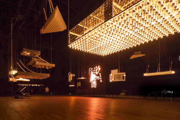 Philippe Parreno - Installation view of H {N)Y P N(Y} OSIS at the Park Avenue Armory. Review by Alex Greenberger Art News