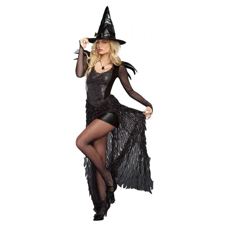 Witch Costume Adult Sexy Halloween Fancy Dress #Dreamgirl
