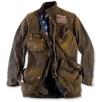 Just found this Mens Belted Motorcycle Jacket - Barbour International Steve… e7ffde8af7c