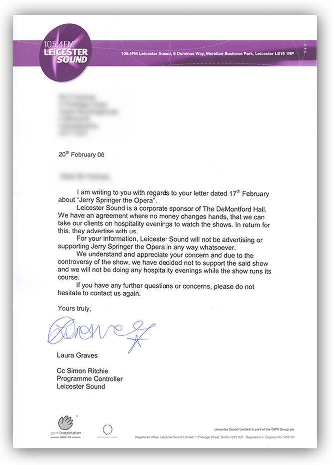 Rejection letter template Business Letters Business letter
