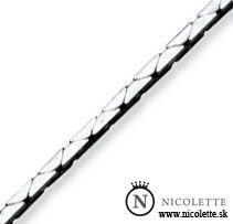Kobra strieborná retiazka https://www.nicolette.sk
