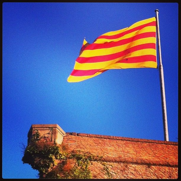 La Senyera, Catalonia's national flag