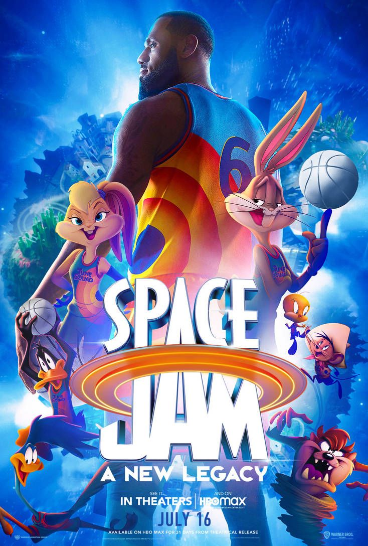 13 Space Jam A New Legacy Poster By Bakikayaa On Deviantart In 2021 Space Jam Looney Tunes Wallpaper Looney Tunes