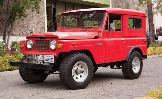 1969 Nissan Patrol Truck