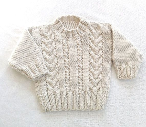 Hey, I found this really awesome Etsy listing at https://www.etsy.com/listing/182543570/baby-aran-sweater-kids-knit-sweater