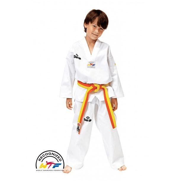 Dobok Taekwondo modelo WTF Bordado - €21.90   https://soloartesmarciales.com    #ArtesMarciales #Taekwondo #Karate #Judo #Hapkido #jiujitsu #BJJ #Boxeo #Aikido #Sambo #MMA #Ninjutsu #Protec #Adidas #Daedo #Mizuno #Rudeboys #KrAvMaga #Venum