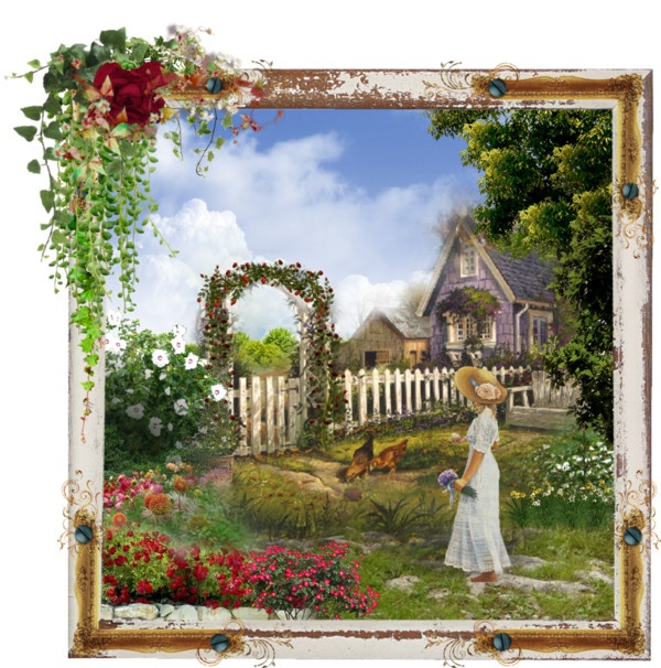 Paying a Visit, created by telynor on PolyvorePolyvore Collage