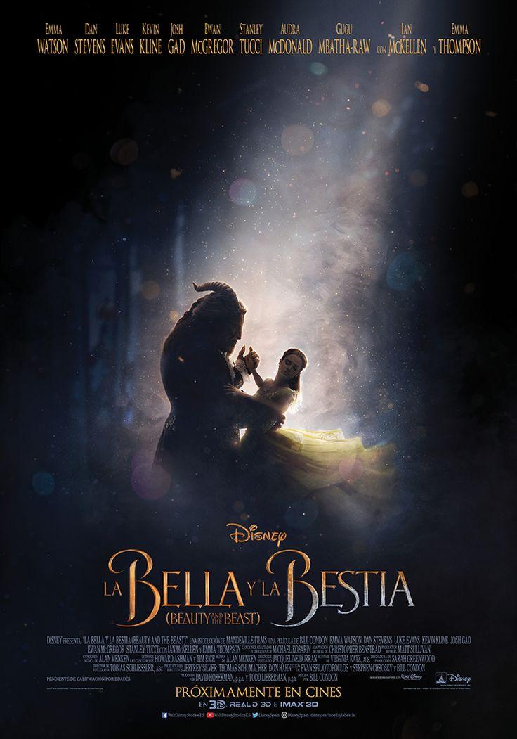 """""""La Bella y la Bestia"""" (2017) I 2º Teaser Poster I Disney"""