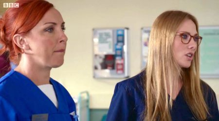 Holby City (18/9) Fran and Jac