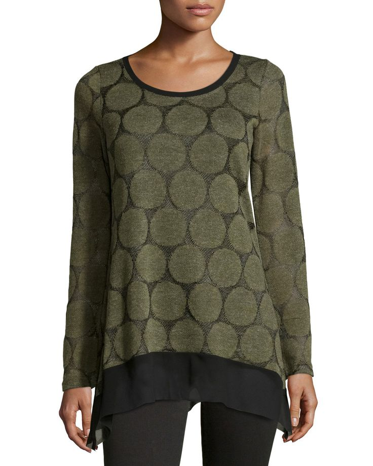 I found a Special Deal on Neiman Marcus Circle Print Chiffon Hem Sleeve Tunic Olive I'm in! Are you See: http://www.imin.com/store-coupons/Neiman-Marcus-Last-Call
