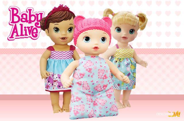 Olha que ótima oportunidade para comprar bonecas Baby Alive com desconto na Ri Happy. Use o cupom e ganhe 5% de desconto na sua compra.