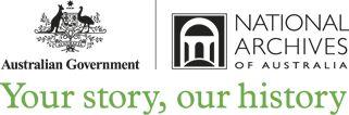 The Australian Government | National Archives of Australia logo