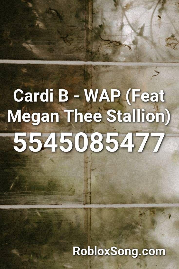Cardi B Wap Feat Megan Thee Stallion Roblox Id Aug 21 2020 Find Roblox Id For Track Cardi B Wap F In 2021 Roblox Harry Potter Official Merchandise Coding