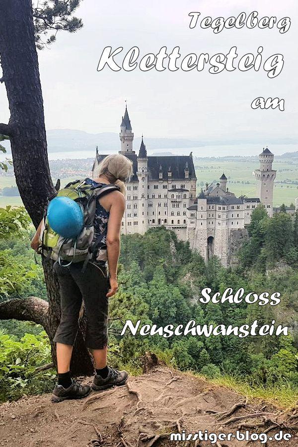 Klettersteig Ohne Auto Tegelbergsteig Am Schloss Neuschwanstein Miss Tiger Klettersteig Schloss Neuschwanstein Neuschwanstein