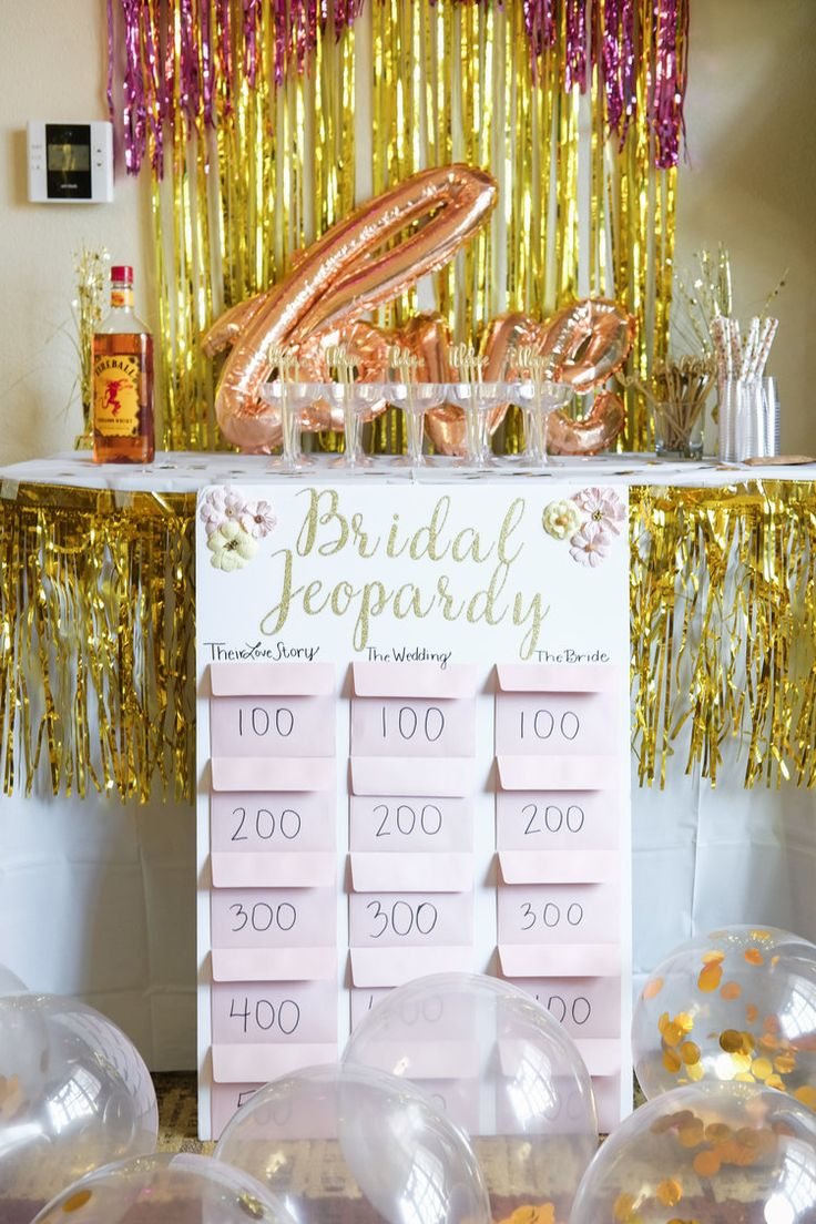 Bachelorette party decor ideas, Bachelorette Game: Bridal Jeopardy, Bachelorette party in Cincinnati Ohio