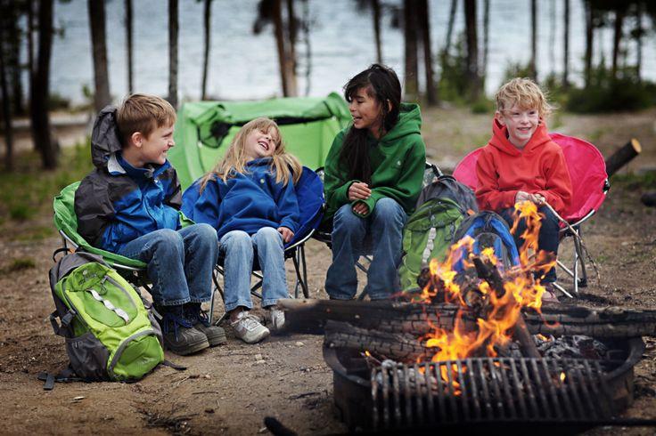 Campfire Fun for Kids: Activities to Enjoy at Night from @Shari Woodbury