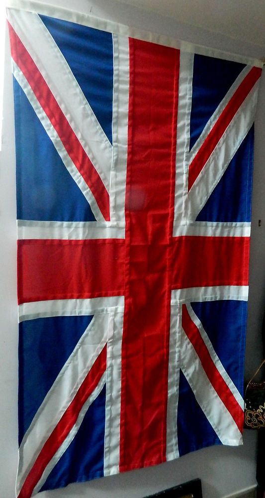 QUALITY PANEL STITCHED COTTON LINEN UNION JACK 5ft 2  x 3ft 2 http://www.ebay.co.uk/itm/QUALITY-PANEL-STITCHED-COTTON-LINEN-UNION-JACK-5ft-2-x-3ft-2-/331873081028?ssPageName=STRK:MESE:IT
