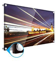 Setzen Sie ein besonders eleganten Akzent in Ihrer Wohnung mit einem beleuchteten Foto hinter Acrylglas!