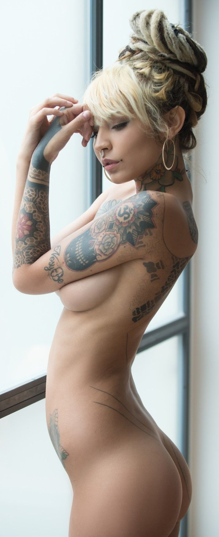 tattoo babes naked thread
