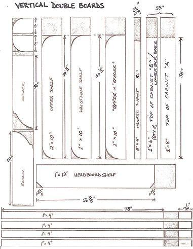 DIY Murphy bed - affordable pdf plans, hardware kit etc! Lori Wall Beds.