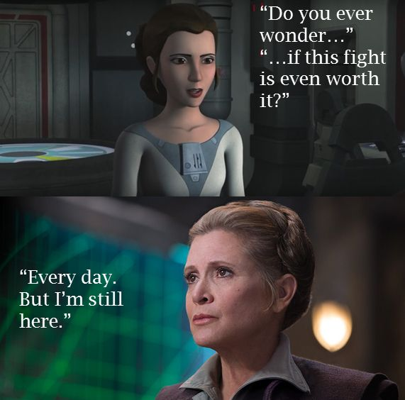 Image result for princess leia quote resistance