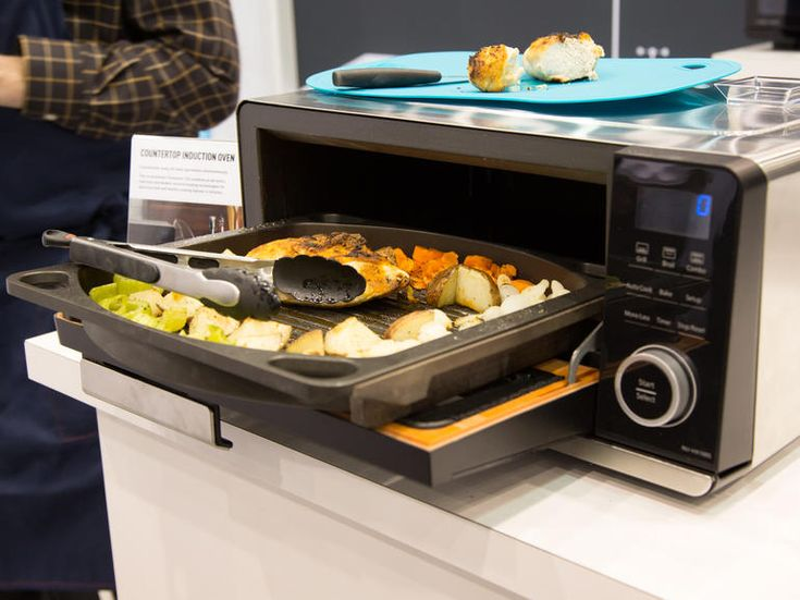 ... panasonic s countertop induction oven cooks dinner fast countertop
