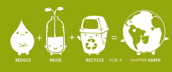 Happy #GlobalRecyclingDay! Today, we come together to put our Planet first!  That means protecting our resources & reduci… | Recycle poster, Reuse  recycle, Recycling