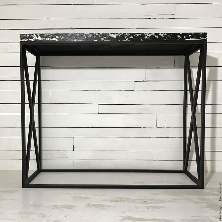 Купить Стол барный GAMBIT. - чёрно-белый, стол, высокий стол, барный стол