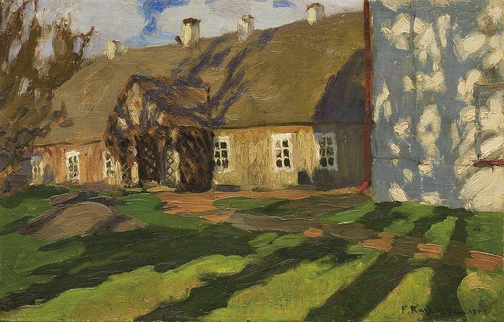 Bohdanów na wiosnę, 1902, Ferdynand Ruszczyc. Polish (1870 - 1936)