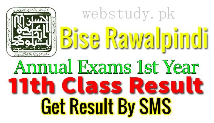 Bise Rawalpindi Board Inter 1st Year Result 2018 FA, FSC, ICS, ICOM