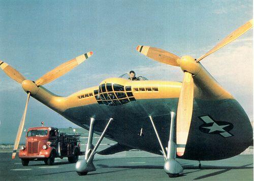 Extraños aviones de guerra que nunca entraron en combate. (Chance Vougth V-173)