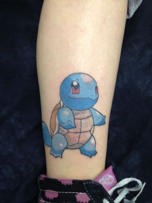 40 best Pokemon Squirtle Tattoos images on Pinterest ...