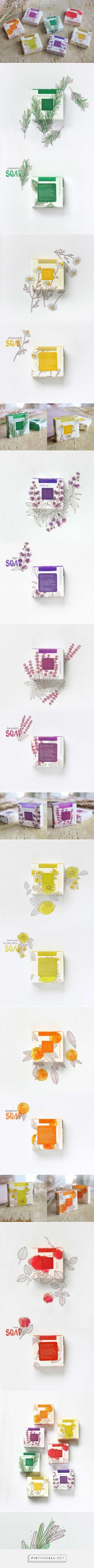 Aroma Mediterranea soaps         on          Packaging of the World - Creative Package Design Gallery - created via http://pinthemall.net